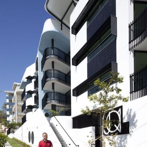 JQ1 Apartments by Push Architecture