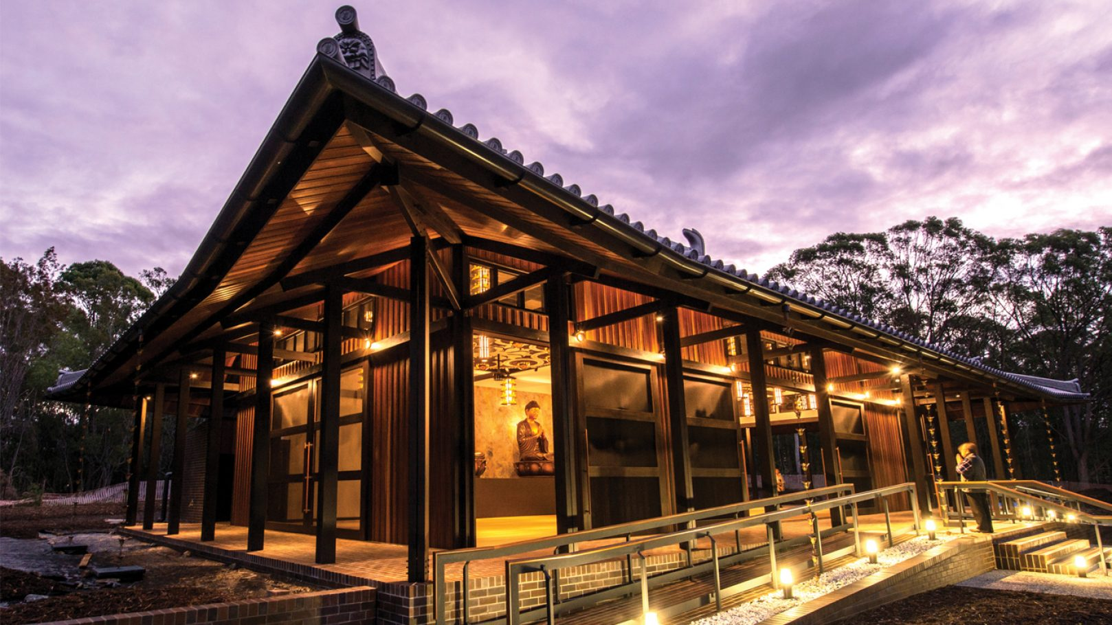 Gold Coast Buddhist Temple Push Architects Dharma Realm Shurangama Temple