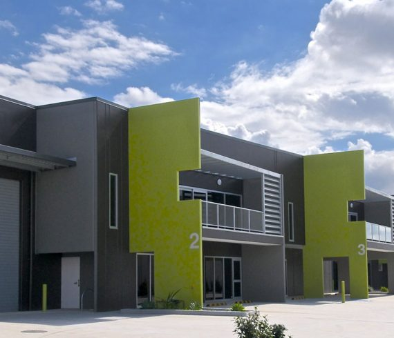 Brisbane industrial unit architect Push architect French avenue brendale