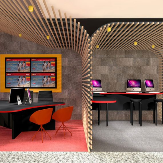 Kina bank Head Office Port Moresby architect Push Wim Architects office fitout interior design