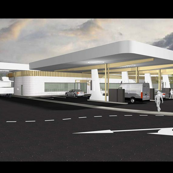 Kings Forest Service Station Northern New South Wales Push Architect Commercial Architecture