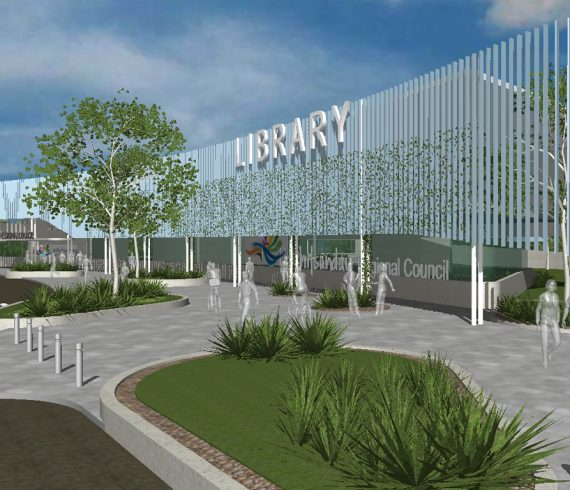 Brisbane architect Push Library concept community public facilities architecture
