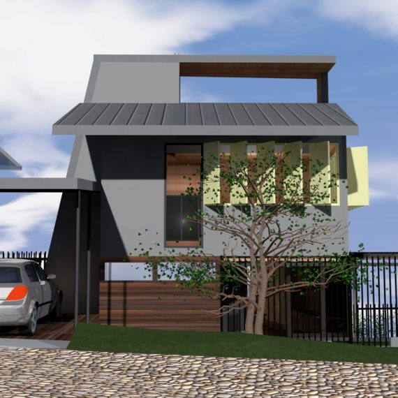 Push Architect collaboration with Bruce Wolfe Stradbroke Island Wolfe Watch New House
