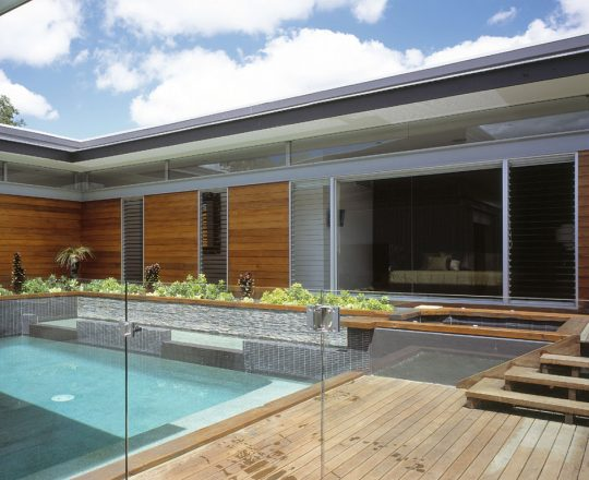 Brisbane New House Push Architect Residential Architecture 2016 AIA Queensland Architecture Awards residential award
