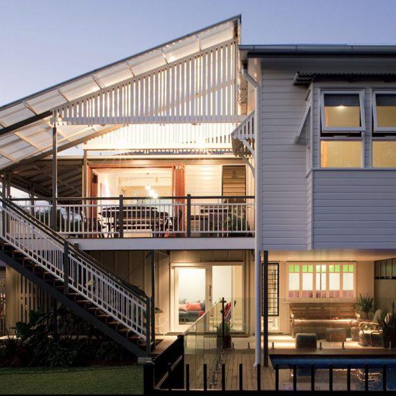 Paddington Architect Red Hill Architect Brisbane Push Architect Residential Architecture Queenslander renovation