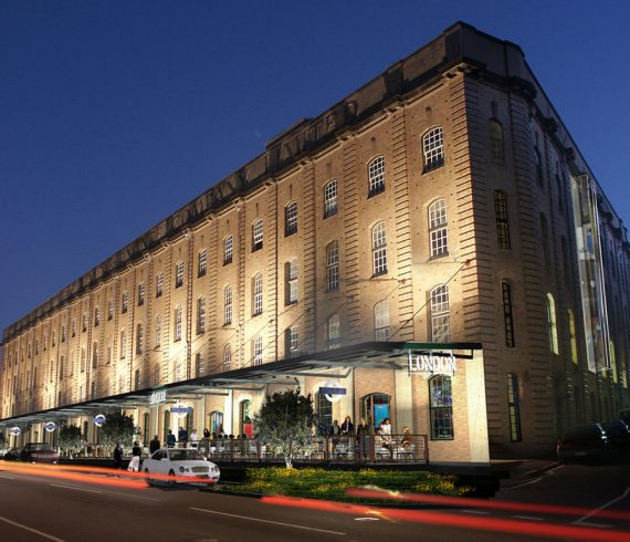 London woolstore apartments Push Architecture multi residential architecture AIA queensland architecture awards multiple housing