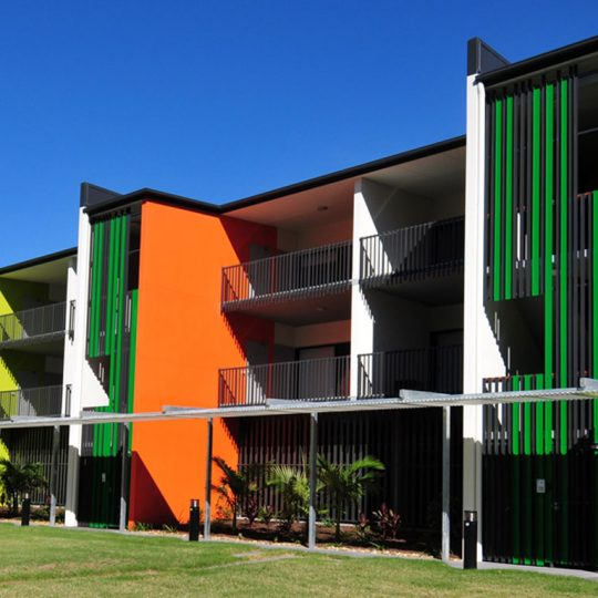 Push Architect Newmarket Green multi residential architecture apartment design brisbane