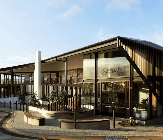 Sunshine Beach Surf Lifesaving Club Push Architecture Andrew Bock Architecture